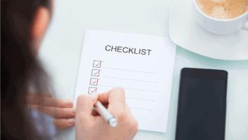 Die praktische Umzugscheckliste für die Schweiz