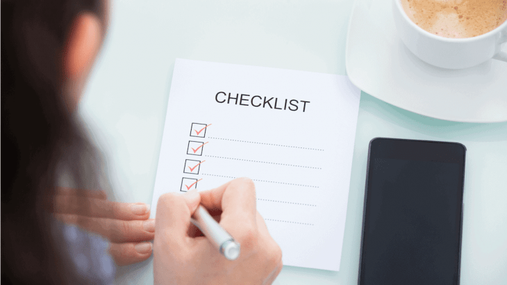 Checkliste Umzug Schweiz