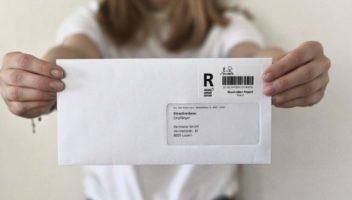 Kündigen Sie eingeschrieben ohne Schlange zu stehen bei der Post